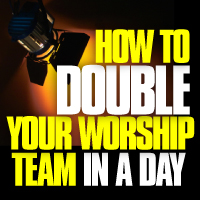 double-worship-team-button